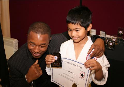 Annual Awards 2008 (14) Winner of Bethnal Green Dojo Award